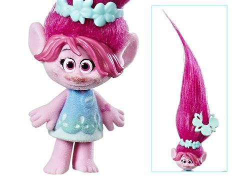 Trolls Poppy Hair Style Doll by Trolls Troll Town Small Hair Raising Poppy Doll