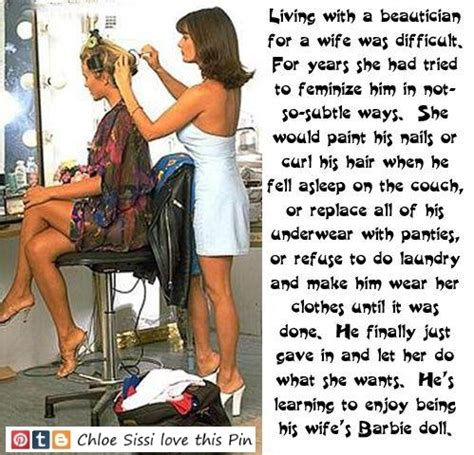 wife permanent makeup on husband stoy clearly he she didn t mind sissy dreams pinterest