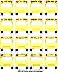 printable bus tags free printable bus tags name tags just printed these for