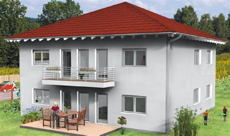 Haus Verona Stadtvilla Fertighaus Energiesparhaus