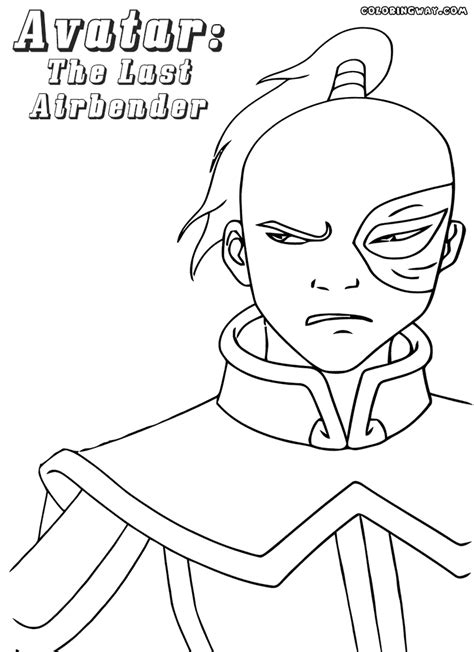Avatar Coloring Pages by Avatar Last Airbender Coloring Pages Coloring Pages To