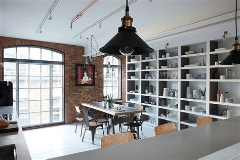 industrial style in a small apartment in london interior chic loft apartment in london adds feminine beauty to an