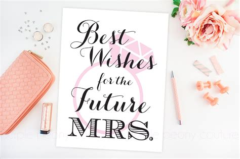 free printable wedding shower signs bridal shower decoration future mrs sign poster printable
