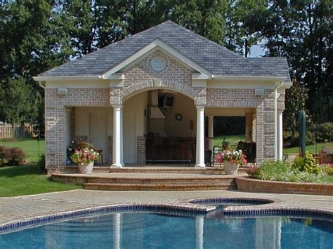 pool house cabana pool cabana home pool patio pinterest