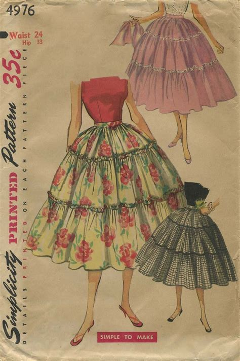 pattern for vintage skirt 17 best images about my vintage circle skirt sewing
