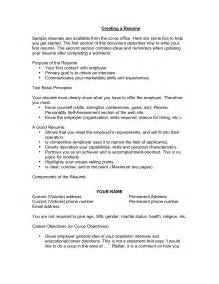 how to write resume objectives exles of sle