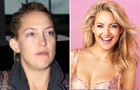 kate hudson without makeup 2015 18 celebrities you won t recognise in these shocking