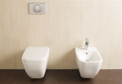 bidet in shift bidet und toilette by vitra bathroom stylepark