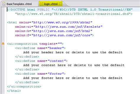 html tutorial help stop on breakpoint in eclipse facelet file stack overflow