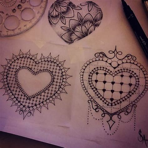 fancy tattoos designs rodjaasexface fancy hearts id like to stop