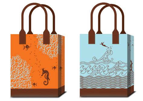 gift bag factory bags on behance