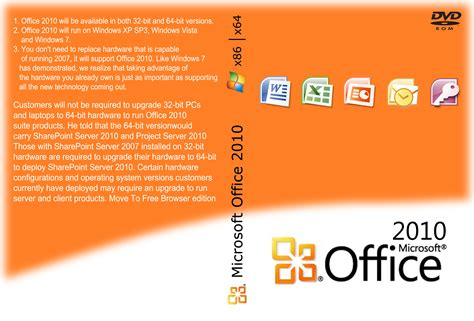 Dvd Microsoft Office office 2010 dvd cover by craniu3000bis on deviantart