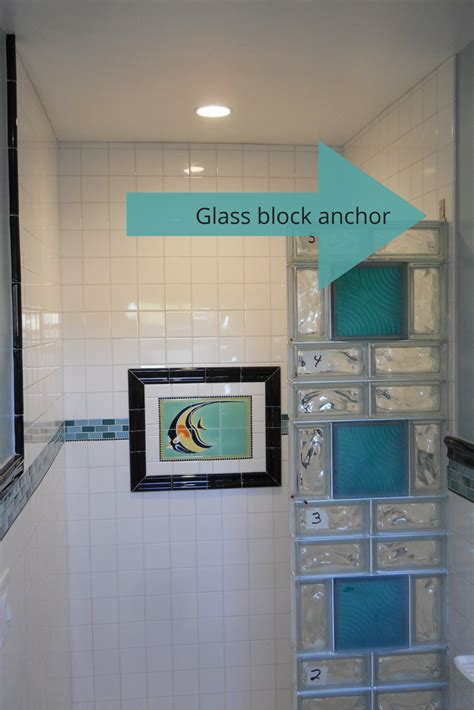glass cubes for bathroom 5 myths about anchoring a glass block shower wall glass