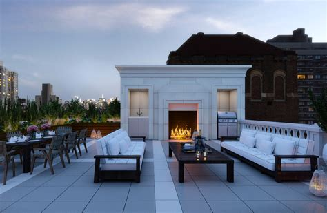 Roof Top Bar Manhattan by Midtown Manhattan Penthouse On Sale For 44 Million