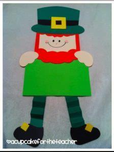leprechaun pattern for kindergarten st patrick s day leprechaun craft for kids preschool