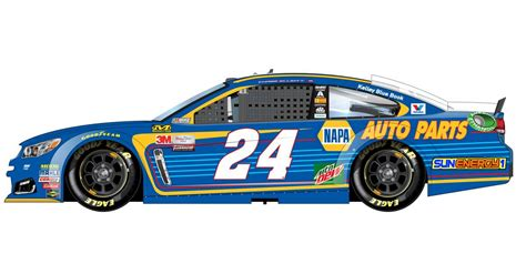 2017 paint schemes elliott reveals 2017 no 24 napa auto parts paint scheme napa how