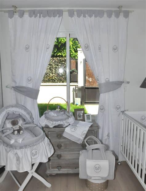 chambre bébé gris blanc bleu chambre garcon gris