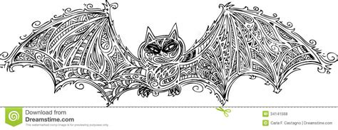 doodle bat black bat doodle vector royalty free stock photos image