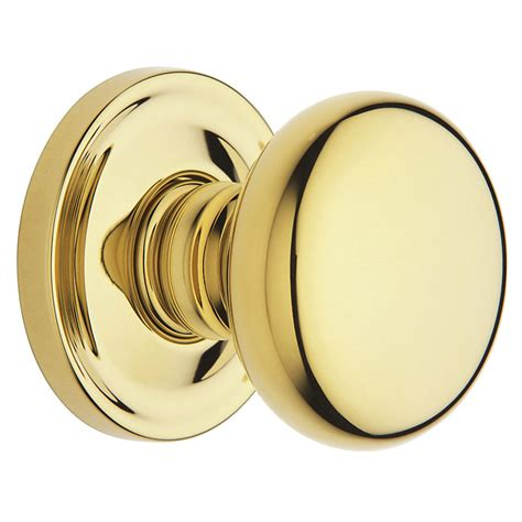 Baldwin Brass Knobs by Baldwin Estate 5015 Classic Door Knob Set Half Dummy