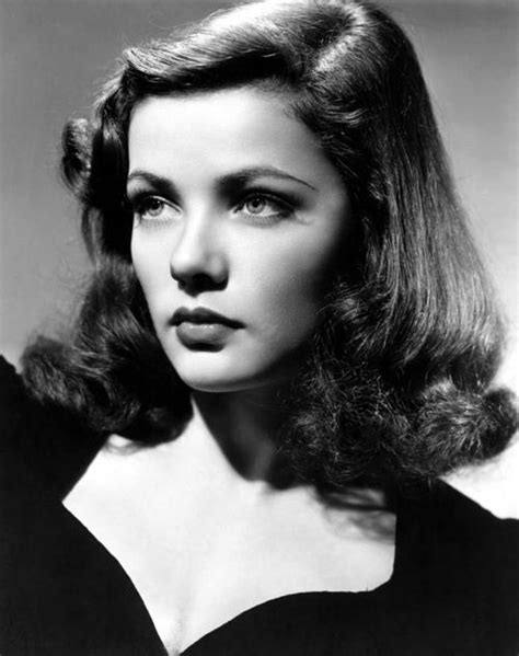 dark headed famous actresses from the 40s how retro com the beauty of gene tierney