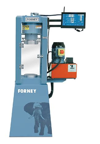 forney model f 250 automated hydraulic press   hamdon