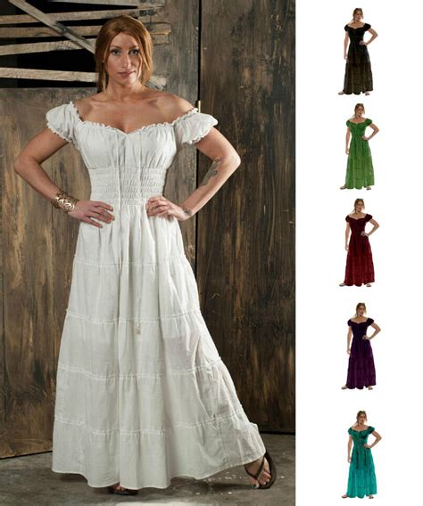renaissance peasant dresses renaissance pirate peasant wench costume medieval boho 100