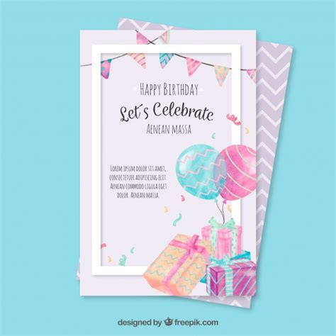 Birthday Greeting Cards With Photo