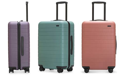 Smart Cross Designed Luggage Pink rashida jones designed the prettiest pastel luggage