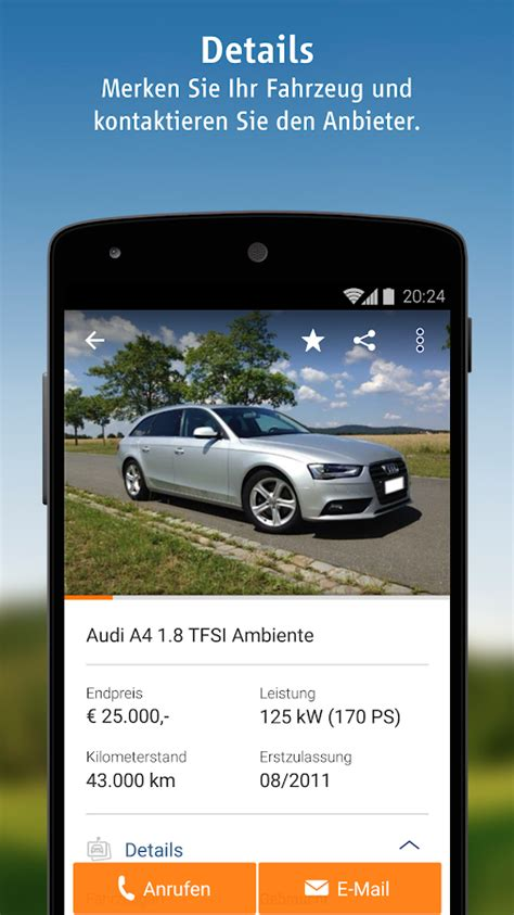 Autoscout24 Oldtimer Motorräder by Autoscout24 Mobile Auto Suche Android Apps Auf Google Play