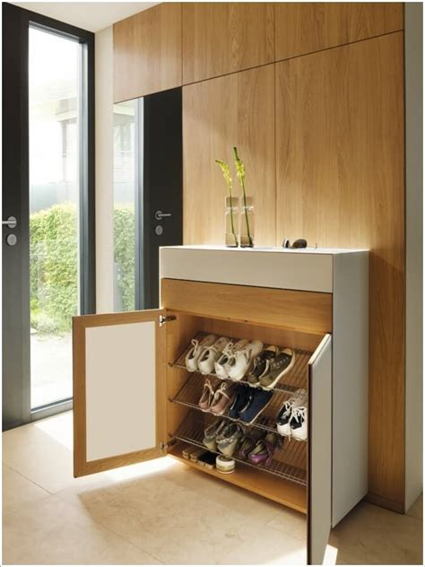console table with shoe rack 10 places in your home where you can install a shoe rack