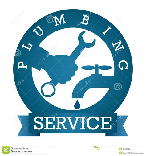 Plumbing Pictures Free by Plumbing Service Vector Stock Images Image 38398054