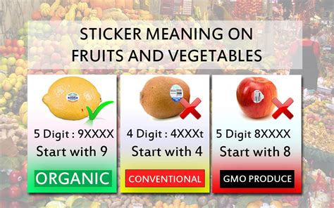fruit meaning what does a sticker on fruit means pashupatinath v mishra