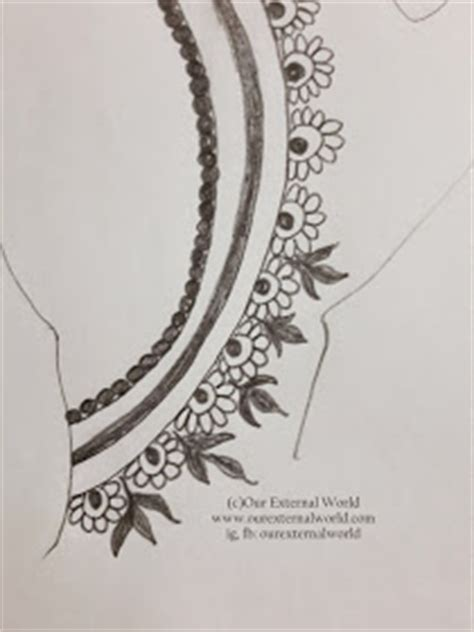 step by step tutorial for henna pattern our external diy mehndi design henna pattern tutorial