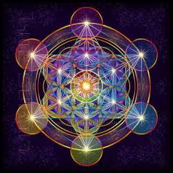Meaning Of Lotus Flower Colors - fruit of life metatron s cube ii by lilyas on deviantart