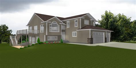 bi level house plans with garage edesignsplans ca 6
