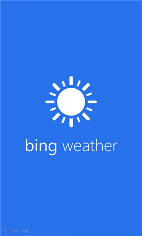 bing weather app windows phone gallery bing weather news finance and sports apps land
