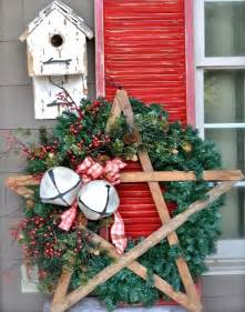 40 comfy rustic outdoor christmas d 233 cor ideas digsdigs