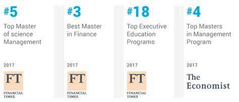 Mba Finance Rankings Uk by Rankings Essec Business School The Pioneering Spirit