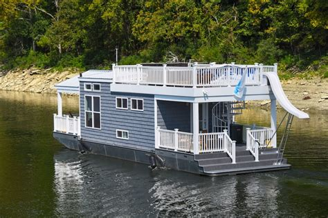 Harbor Cottage by Harbor Cottage Houseboat Tiny House Swoon