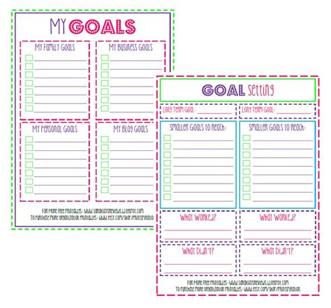 free printable goal planner 2015 32 best goals images on pinterest filing cabinets free