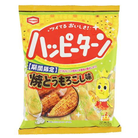 aim crackers roasted corn 180 gram japan centre kamedaseika happy turn roasted corn soft