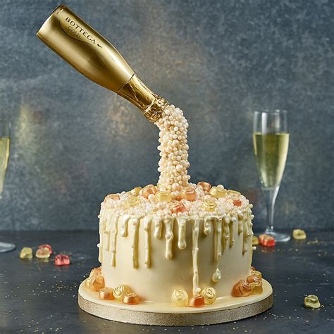Prosecco Cascade Cake   Anti Gravity Cake Recipes   Lakeland