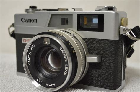 recommended canon film camera vintage canon g iii ql 17 35mm rangefinder film camera