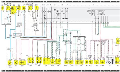 mercedes wiring diagram color codes wiring diagrams