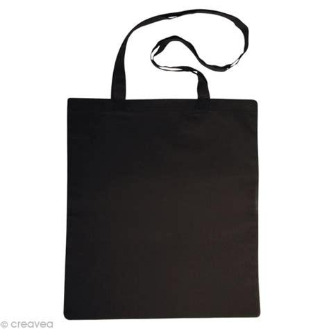 sac en coton personnalisable noir anses longues sac et tote bag creavea