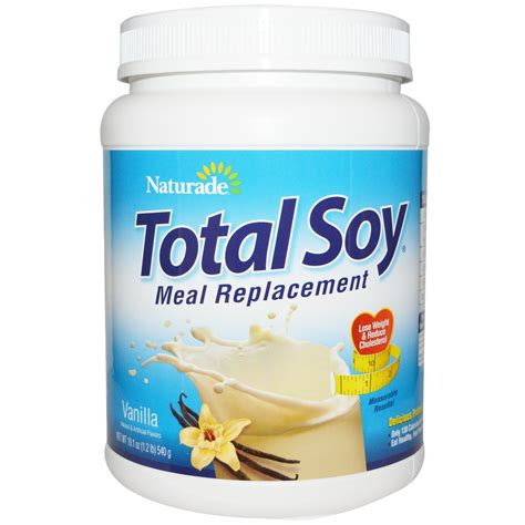 protein meal replacement naturade total soy meal replacement vanilla 19 1 oz