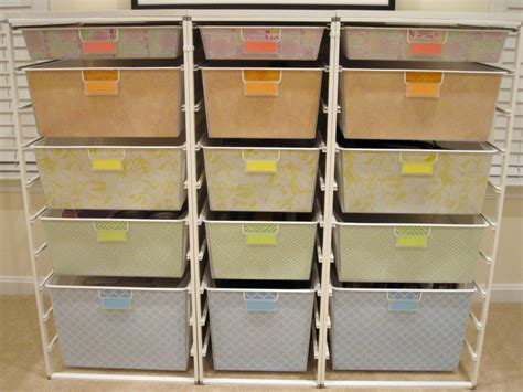 Elfa Shelf Liner how to decorate your elfa drawers from the container store