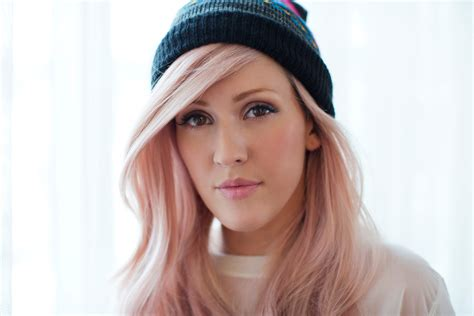 ellie goulding pink hair ellie goulding ellie goulding photo 34393771 fanpop