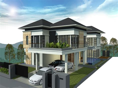 bungalow houses pictures in malaysia studio design