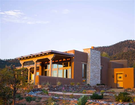 pueblo style homes santa fe home southwestern style modern architecture
